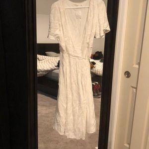 Astr wrap dress